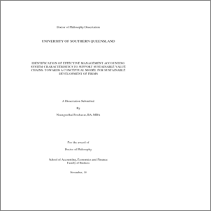 environmental management accounting thesis