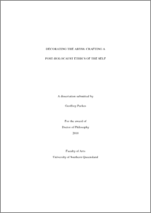 Higher Degree by Research Thesis Examination Procedure - University of Southern Queensland