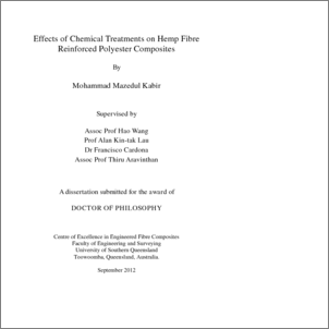 Phd thesis on polymer composites