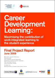 Career development learning: maximising the contribution of