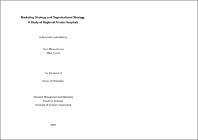 Thesis Proposal Guidelines PhD in Anthropology and Sociology of